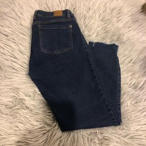 RVCA blue jeans ankle size 25